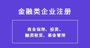 天津注册金融类公司