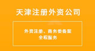 天津注册外资公司
